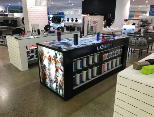 POS interactive display for Ultimate Ears 2