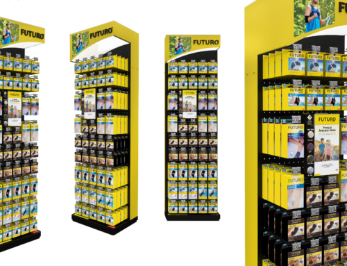 POS display – clever design making product choice simple