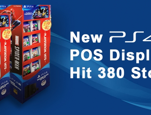 PS4 – PlayStation Point of Sale Display