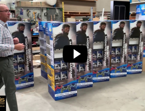 Video: Pre-pack point of sale display process walk-through
