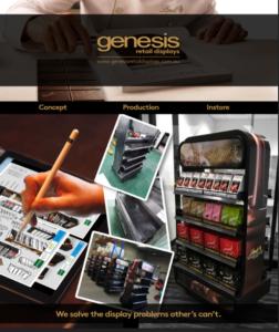 Custom design point of sale displays