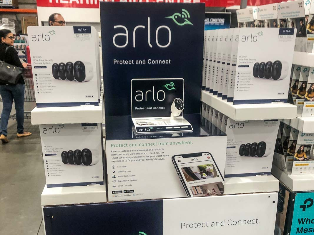 Arlo-Interactive-Product-Display-for-a-Costco-Pallet-in-Australia-custom-designed-by-Genesis-Retail-Displays-close-up
