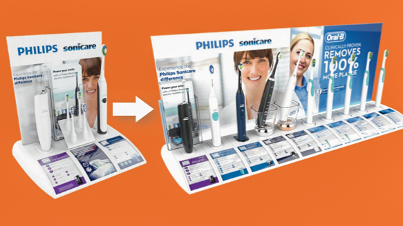Modular-permanent-retail-display-ideas-for-consumer-electrical-products-like-toothbrush-designed-by-Genesis-Retail-Displays-in-Sydney-8