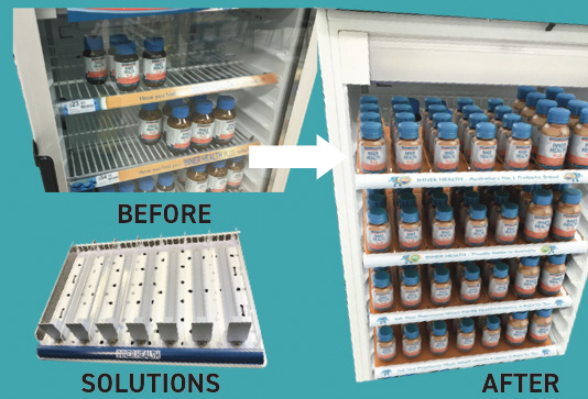 Permanent-retail-display-ideas-for-products-vitamins-in-a-fridge-designed-by-Genesis-Retail-Displays-in-Sydney-9
